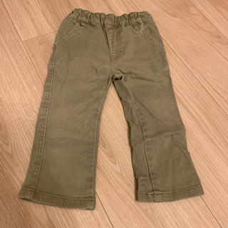 ムジルシリョウヒン(MUJI (無印良品))のカーキのパンツ 80(パンツ)