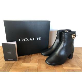 コーチ(COACH)のCOACH ショートブーツ 24cm(ブーツ)