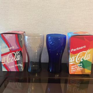 コカコーラ(コカ・コーラ)のコカコーラ  グラス  2個セット(ノベルティグッズ)