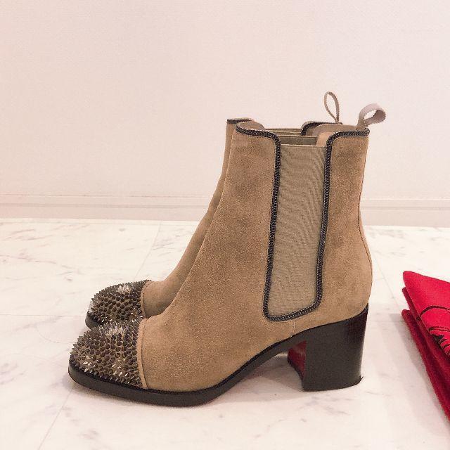 Christian Louboutin(クリスチャンルブタン)のCHRISTIAN LOUBOUTINクリスチャンルブタン ショートブーツ レディースの靴/シューズ(ブーツ)の商品写真