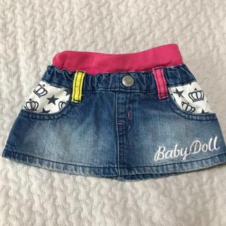 ベビードール(BABYDOLL)のbaby doll 80 スカート(スカート)