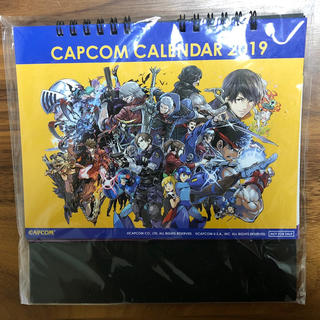 カプコン(CAPCOM)のCAPCOM カレンダー(アニメ/ゲーム)