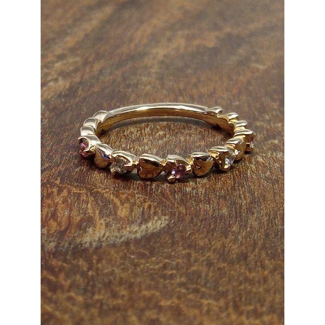 4℃(ヨンドシー)の4℃です!ピンキーに!K18ダイヤリング 5号 レディースのアクセサリー(リング(指輪))の商品写真
