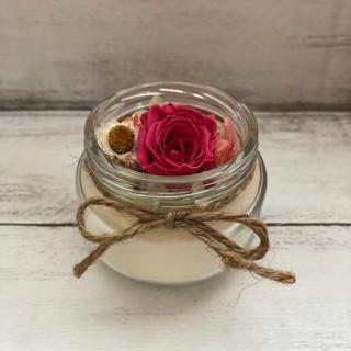アロマワックスカップ❋vivid rose(アロマ/キャンドル)