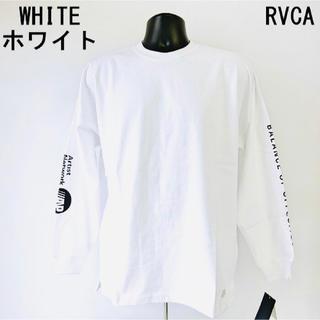 ルーカ(RVCA)の残り1点 秋冬新作 人気 ルーカ パッチロンT 長袖Tシャツ メンズ レディース(Tシャツ/カットソー(半袖/袖なし))