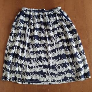 ミナペルホネン(mina perhonen)の【週末セール】SallyScott  swan lake スカート(ひざ丈スカート)