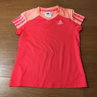 アディダス(adidas)のアディダス 赤 120 Tシャツ(Tシャツ/カットソー)