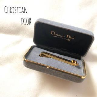 クリスチャンディオール(Christian Dior)の【ケース付き】Christian Dior ネクタイピン タイピン スーツ(ネクタイピン)