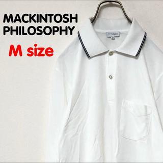 マッキントッシュフィロソフィー(MACKINTOSH PHILOSOPHY)のマッキントッシュフィロソフィー 長袖 シンプル 無地 シャツ USED OLD(シャツ)