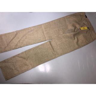 タケオキクチ(TAKEO KIKUCHI)の425◆新品◆タケオキクチ◆パンツ ズボン スラックス 薄茶色系 サイズ03(スラックス)