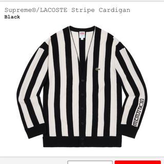 シュプリーム(Supreme)のSupreme LACOSTE Stripe Cardigan(カーディガン)