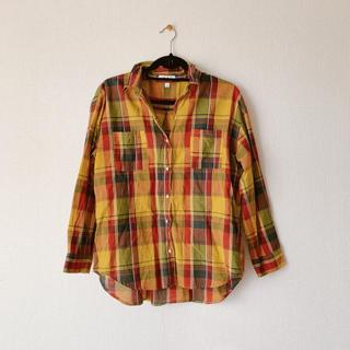 ニコアンド(niko and...)のコットンチェックシャツ(シャツ/ブラウス(長袖/七分))