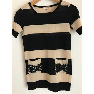 ルシェルブルー(LE CIEL BLEU)の⭐️半袖 薄ニット  FREE size (ニット/セーター)