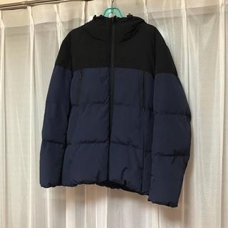 GU - ダウンジャケット 「青、黒」