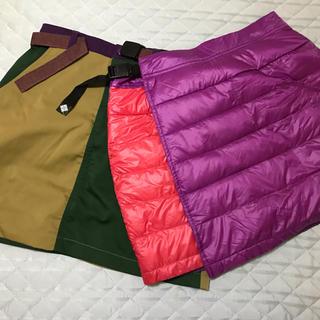 コロンビア(Columbia)の【試着のみ】Columbia コロンビア スカート 2枚セット(ひざ丈スカート)