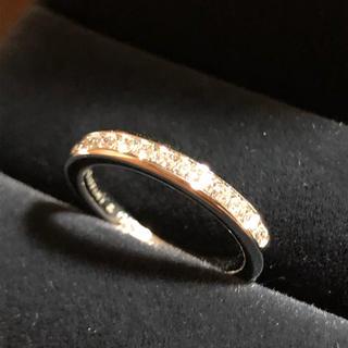 ティファニー(Tiffany & Co.)の連休値下げ 新品磨き済み ティファニー ハーフサークル  ダイヤ リング(リング(指輪))