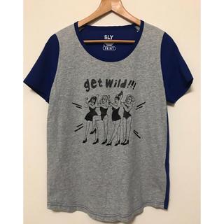スライ(SLY)のTシャツ カットソー SLY PRINT(Tシャツ(半袖/袖なし))