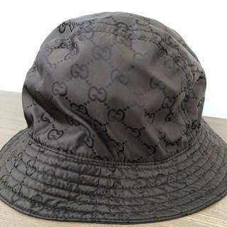 グッチ(Gucci)のGUCCI ナイロン バケットハット 帽子(ハット)