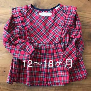 ザラキッズ(ZARA KIDS)の未着用☆ZARA baby12〜18ヶ月☆ブラウス(シャツ/カットソー)