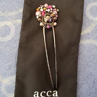 アッカ(acca)の✨新品・未使用✨accaスティック(ヘアピン)
