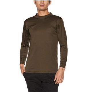 グンゼ(GUNZE)のグンゼ インナーシャツ 防風インナー ロング ハイネック メンズ(Tシャツ/カットソー(七分/長袖))