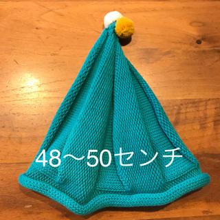 未使用☆とんがり帽子48〜50センチ(帽子)