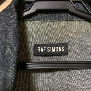 ラフシモンズ(RAF SIMONS)のRAFSIMONS ジャケット(Gジャン/デニムジャケット)