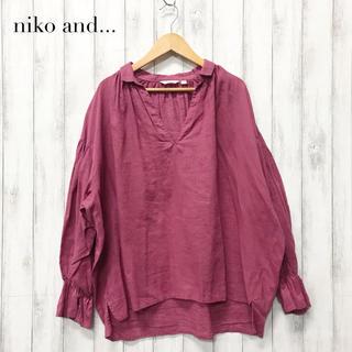 ニコアンド(niko and...)の【niko and...】コットンリネンブラウス ニコアンド(シャツ/ブラウス(長袖/七分))