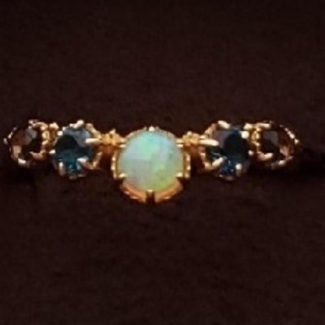agete(アガット)のアガット オパールリング レディースのアクセサリー(リング(指輪))の商品写真
