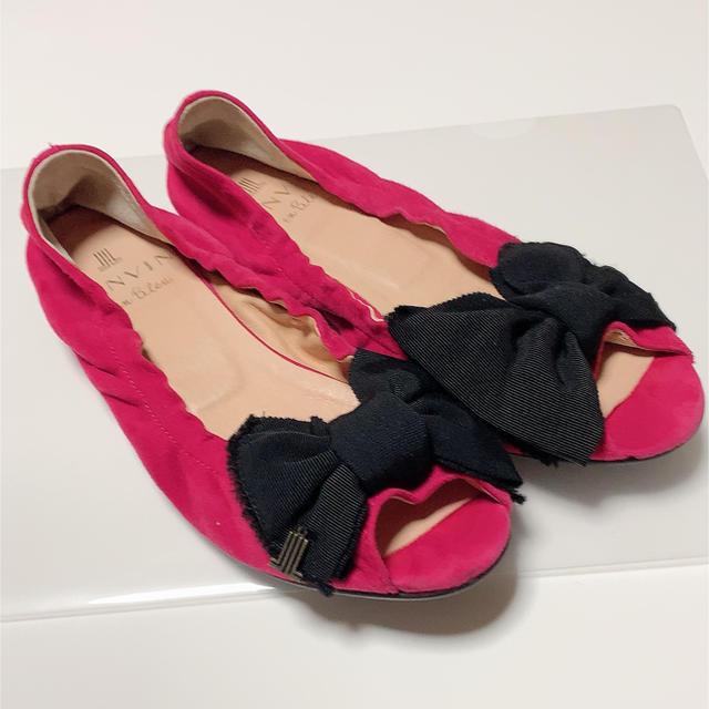 LANVIN en Bleu(ランバンオンブルー)のランバンオンブルー パンプス レディースの靴/シューズ(バレエシューズ)の商品写真