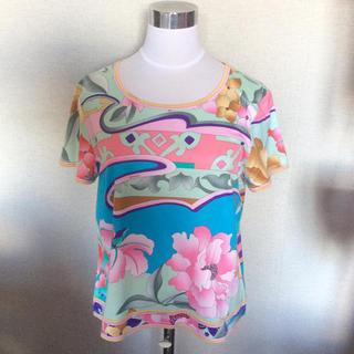 レオナール(LEONARD)のレオナール Tシャツ 美品(Tシャツ(半袖/袖なし))