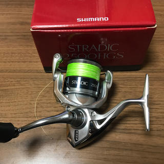シマノ(SHIMANO)のストラディック2500HGS (リール)