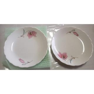花柄 お皿 2枚セット(食器)