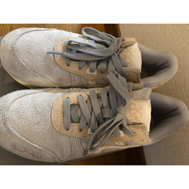 asics(アシックス)のアシックスタイガー ゲルライト 9600 GREY/クリーム レディースの靴/シューズ(スニーカー)の商品写真