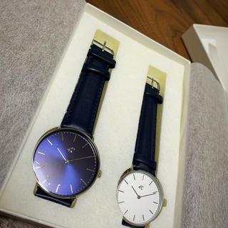 ヨンドシー(4℃)の4℃ ペアウォッチ ブライダル 箱付き 非売品(腕時計)