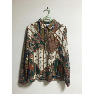 ディオール(Dior)の11747391 スカーフ柄シャツ(シャツ)