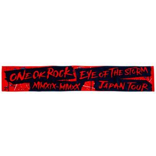 ワンオクロック(ONE OK ROCK)のワンオク タオル  赤黒(ミュージシャン)