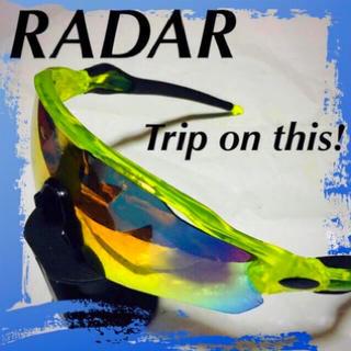 ❇️【RADAR】実用性たる最高峰☆‼️スポーツサングラス‼️(ウエア)
