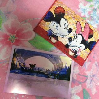 ディズニー(Disney)のデザインアートポストカード(その他)