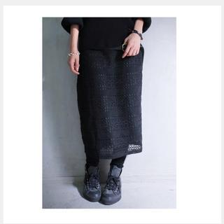 アンティカ(antiqua)のアンティカ antiqua レースデザインスカート(ひざ丈スカート)