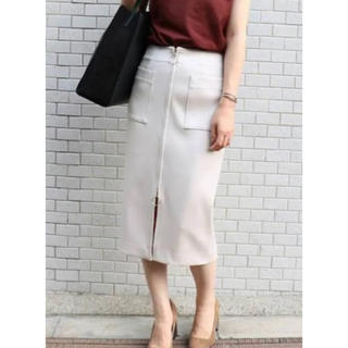 ノーブル(Noble)のノーブル♡ジップスカート(ひざ丈スカート)