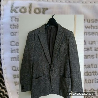 カラー(kolor)のKolor ツイードジャケット(テーラードジャケット)