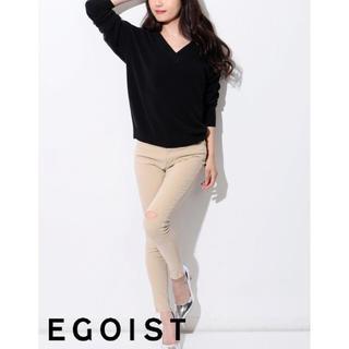 EGOIST - 【新品未使用/送料込み】EGOIST スラッシュダメージスキニーパンツ