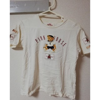 ピンクハウス(PINK HOUSE)の気まぐれお値下げピンクハウスくまちゃんTシャツ160㎝♥️(Tシャツ(半袖/袖なし))
