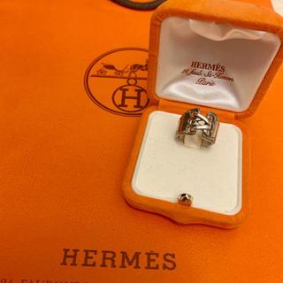 エルメス(Hermes)のHERMES レア★エルメスメキシコリング コルセットリング (リング(指輪))