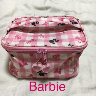 バービー(Barbie)の【新品・未使用品】Barbie バニティポーチ(ポーチ)