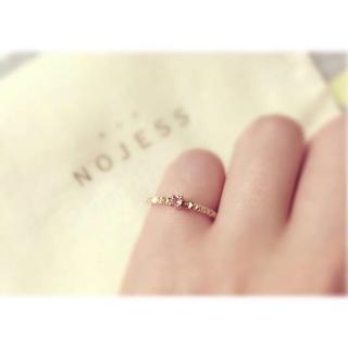 ノジェス(NOJESS)のNOJESS ピンキーリング 5号(リング(指輪))