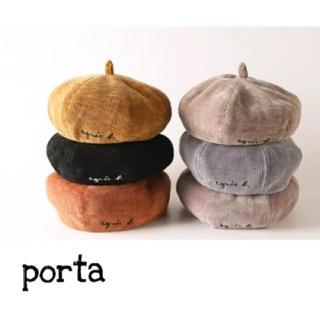 アニエスベー(agnes b.)のアニエスベー パロディベレー帽(帽子)