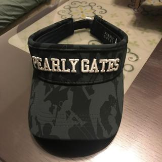 パーリーゲイツ(PEARLY GATES)のPEARLY GATES サンバイザー(サンバイザー)