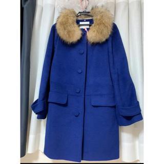 クチュールブローチ(Couture Brooch)のリアルファー付きコート(毛皮/ファーコート)